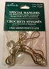 Special hangers - 5 Stainless Steel - Holds up to 3 Ornaments