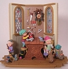 1996 Santa's Toy Shop *Club Event Display Signed by Three Artists