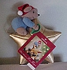 1999 Chris Mouse Tree Topper Mint with Tag
