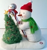 2010 Tree Trimming Snowman Plush #7 *RARE *NEW with Tag