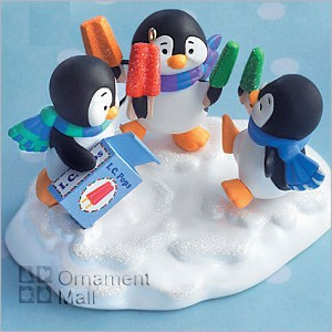 2008 Cool Treats Penguins with Popsicles