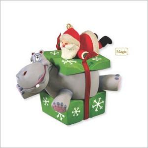 2012 I Want A Hippopotamus For Christmas Magic Hallmark
