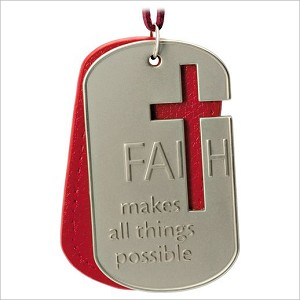 2016 All Things Are Possible Faith Tag