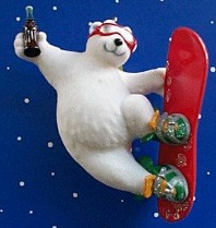 2001 Cool Sport Polar Bear Coca Cola *Coke