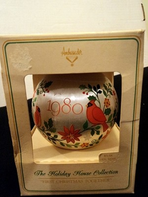 1980 Ambassador First Christmas Together Ball (NB)