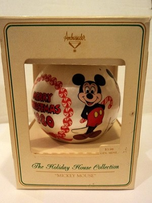 1980 Ambassador Mickey Mouse Ball (SDB)