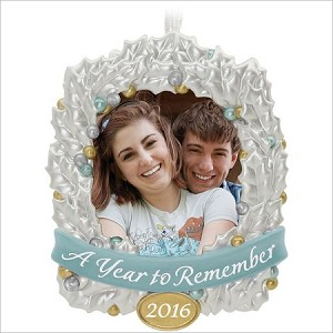 2016 A Year to Remember Photo Holder