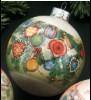 1977 Christmas Expressions Ornaments Ball (DB)