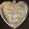1986 First Christmas Together Locket (NB)