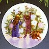 1987 Collector's Plate-Light/Christmas 1st  Plate Only (NB)