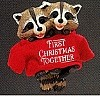 1987 First Christmas Together Raccoons
