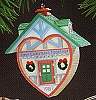 1987 First Christmas Together Heart Home (NB)