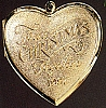 1987 First Christmas Together Locket