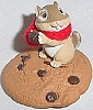 1987 Chocolate Chipmunk *Clip On