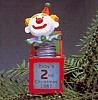 1987 Baby's Second Christmas Jack-in-the-Box