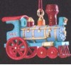 1989 Noel R.R. 1st Locomotive *Miniature