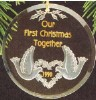 1990 Our First Christmas Together-Acrylic