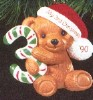 1990 Child's Age: Child's 3rd Christmas Bear