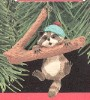 1990 Hang In There Raccoon