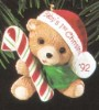 1992 Child's Age: Baby's First Christmas Bear