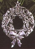 1993 Glowing Pewter Wreath Anniversary