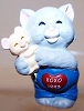 1993 Hugs N Kisses 3rd -Cat Hugging Mouse *MM Valentine's