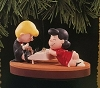 1996 Peanuts Schroeder and Lucy *Magic (SDB)