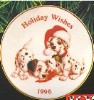 1996 Holiday Wishes 101 Dalmatians
