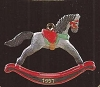 1997 Miniature Rocking Horse 10th & Final *Miniature