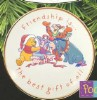 1997 Gift of Friendship Winnie The Pooh Plate