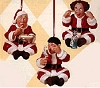 1999 The Three Stooges: Larry, Moe, and Curly as Santas