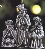 1999 The Nativity 2nd Pewter Kings*Miniature