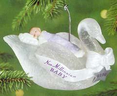 2000 Baby S First New Millennium Hallmark Keepsake