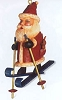 2000 Kris Cross Country Kringle Santa on Skies