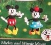 2000 Mickey And Minnie Mouse *Miniature