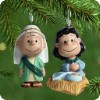 2001 Peanuts Pageant Nativity-Set Of 2