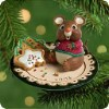 2001 Sharing Santa's Snacks-Mouse With Cookies