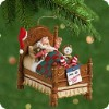 2001 Snoozing Santa-Wind Up
