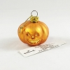 2002 Blown Glass Pumpkin *Halloween Trimmer