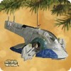 2002 Star Wars Slave I Starship