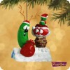 2002 Veggie Tales.. Santa Too Round for the Chimney (NB)