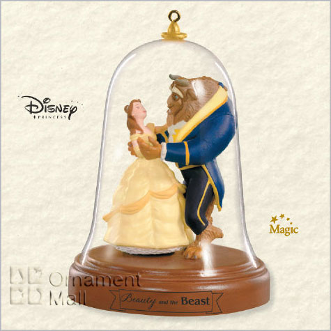 Home Hallmark Ornaments Years 2008 Beauty And The Beast A Magical Night Magic