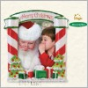 2008 Sittin' on Santa's Lap Photo Holder *Magic