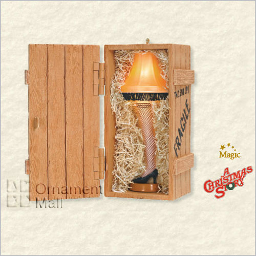 2008 A Christmas Story The Unforgettable Leg Lamp Magic