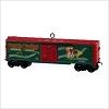 2009 Lionel Trains Red Mikado Holiday Boxcar