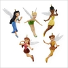 2009 Tinker Bell and Friends Pixie Hollow set/5 *Miniature