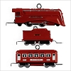 2009 Miniature Lionel Trains The Red Comet Set set/3
