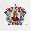 2010 All-Star Kid Photo Frame *Magic