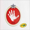 2010 Crayola Merry Little Christmas Handprint Kit