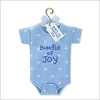 2010 Baby's First Christmas Bundle of Joy Onesie (Boy)